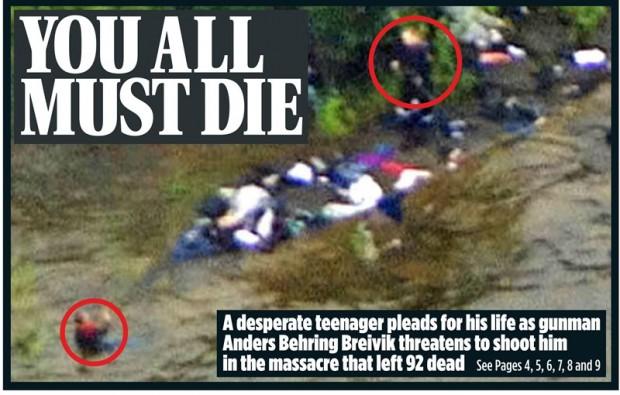 Sausio Tryliktoji palyginimui skaiciuose::--- Breiwikas vienas pats nušove 77 civilius žmones...--- Nicoje vienas nusi...